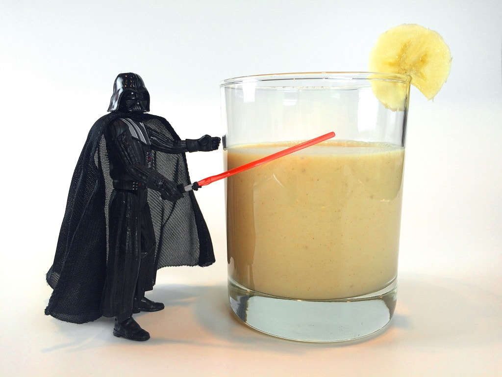 Ani Banani Darth Vader Star Wars Cocktail Drink Mocktail