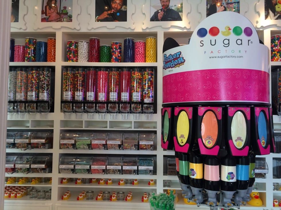 the Sugar Factory Orlando retail store