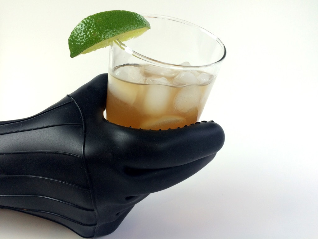 Dark and Stormy Cocktail Darth Vader Glove Oven Mitt