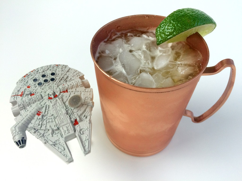 Millenium Mule Star Wars Inspired Cocktail