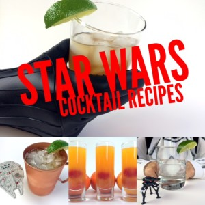 Star Wars Inspired Cocktail Recipes