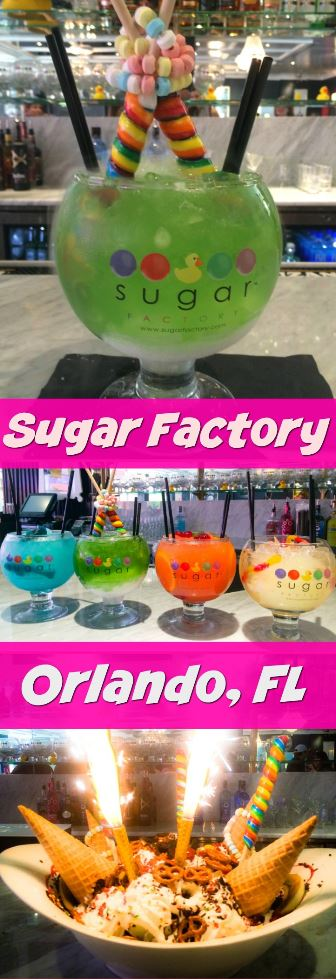 The Sugar Factory in Orlando has specialty cocktails that are world famous! The restaurant and bar on International Drive is one of Florida's sweetest places to eat. Click through to watch our cocktail making video.