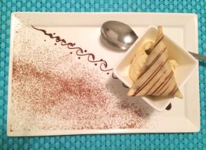 Table Chocolate Samosa