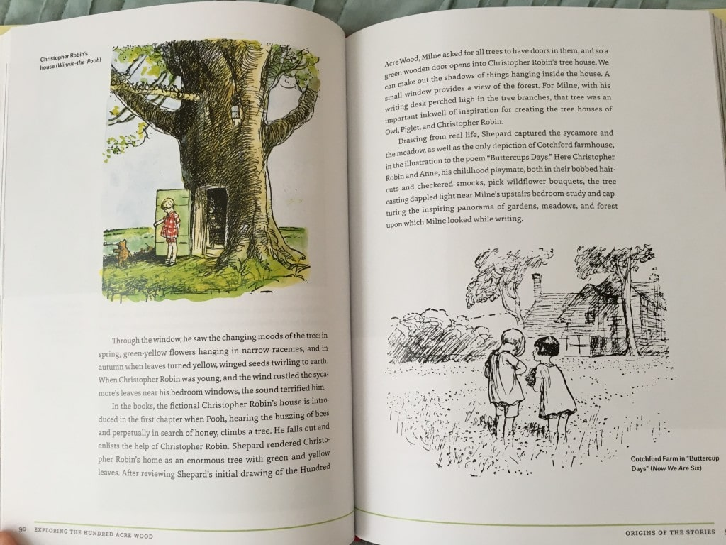 The Real World of Winnie The Pooh Illustrated