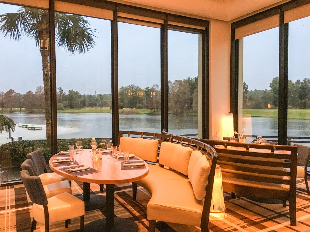 Lakehouse Restaurant View Hyatt Grand Cypress