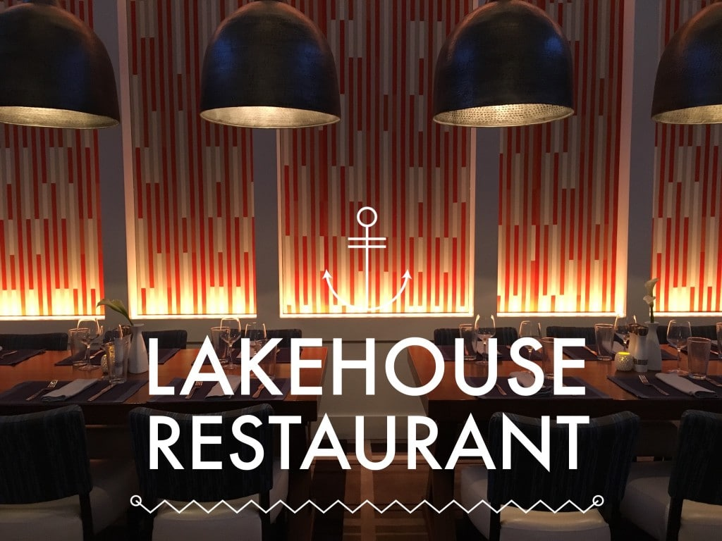 Lakehouse Restaurant Hyatt Grand Cypress