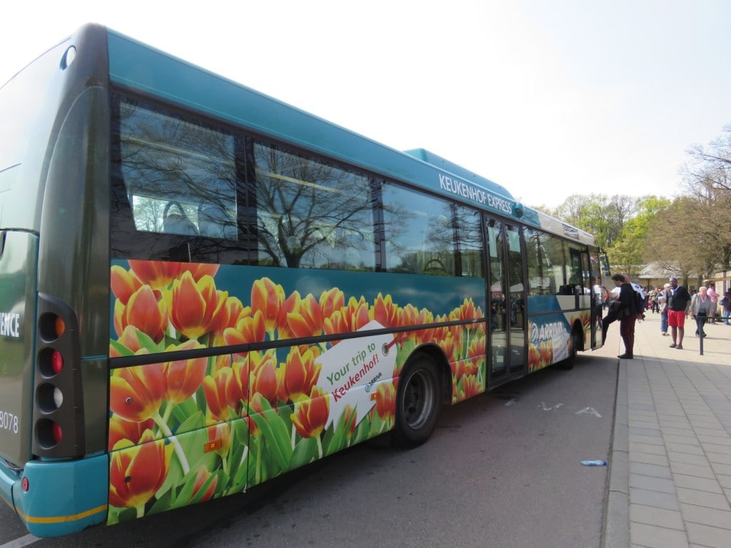 Keukenhof Gardens Amsterdam Netherlands Tulips Bus Transportation Included in Ticket