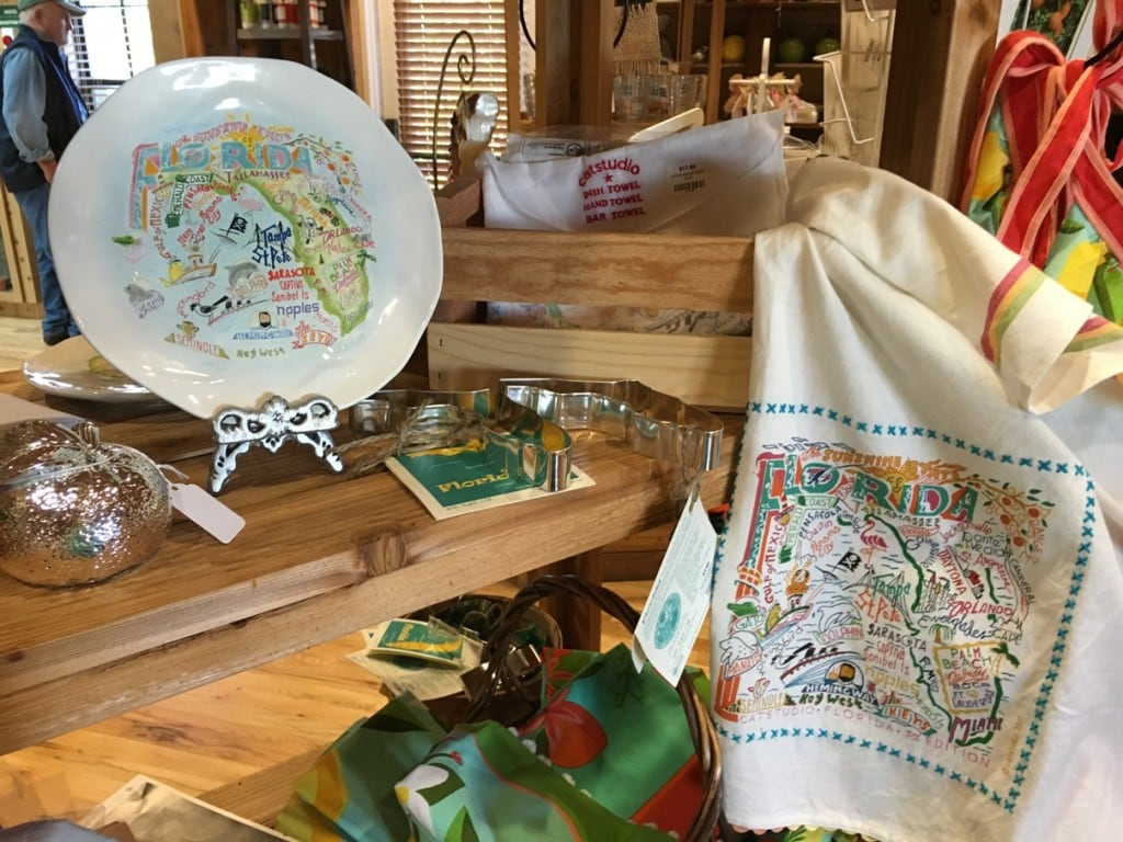 Florida Themed Souvenirs at Florida's Natural Grove House Visitor Center
