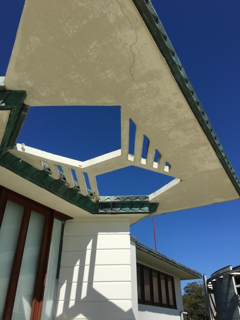 Frank Lloyd Wright Architecture Florida Southern College Campus Roof Detail