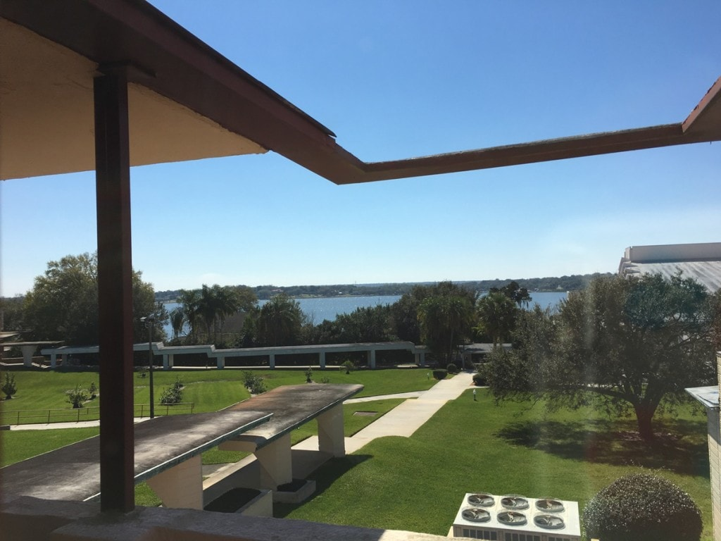 Frank Lloyd Wright Architecture Florida Southern College Campus Lake View