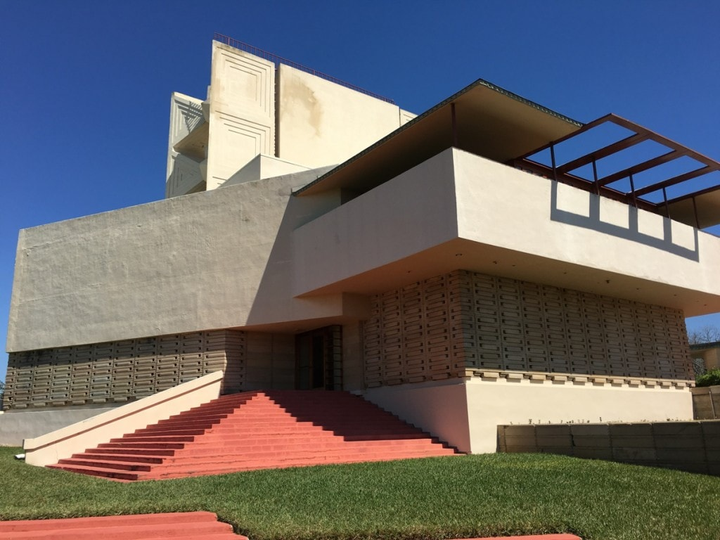 Frank Lloyd Wright Architecture Florida Southern College Campus Pfeifer Chapel