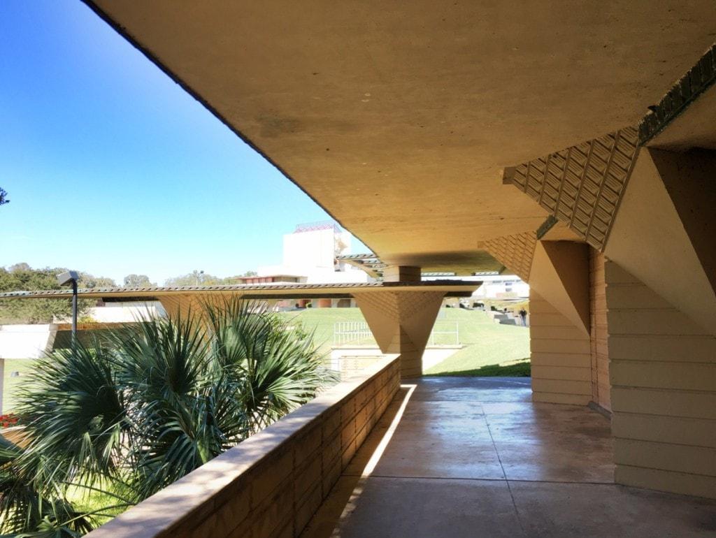 Frank Lloyd Wright Architecture Florida Southern College Campus Espalande