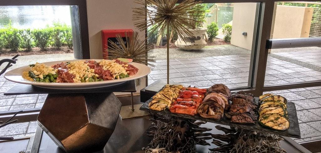 Four Seasons Orlando Brunch Plancha Buffet Antipasti
