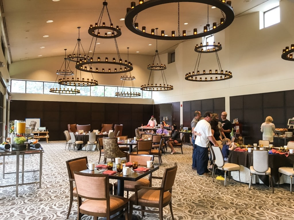 Four Seasons Orlando Brunch Plancha Buffet Dining Room