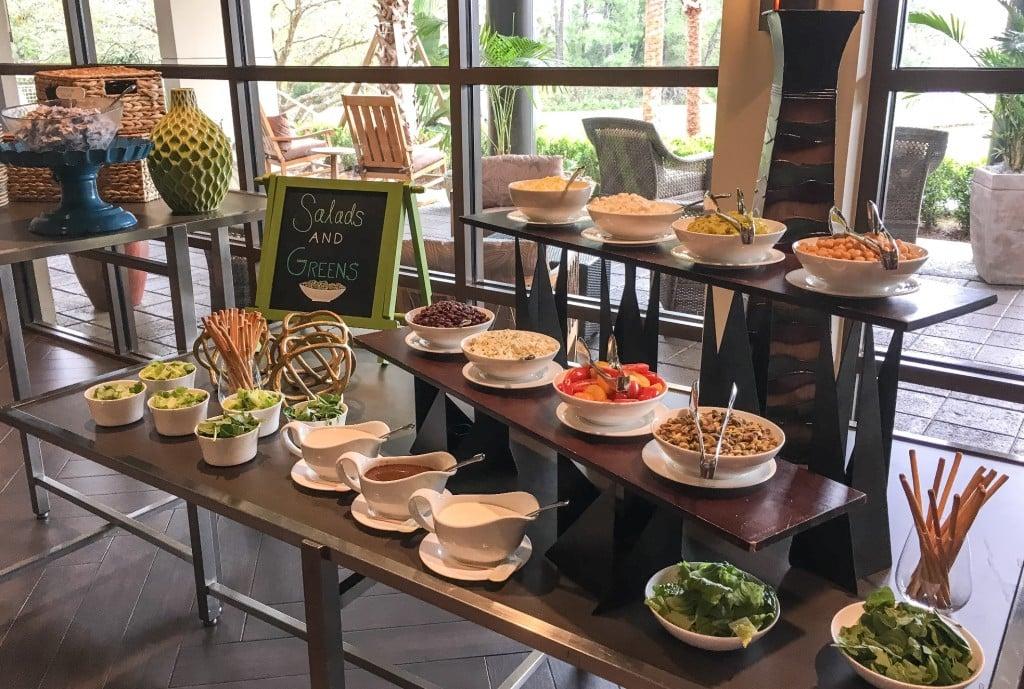 Four Seasons Orlando Brunch Plancha Buffet Salads