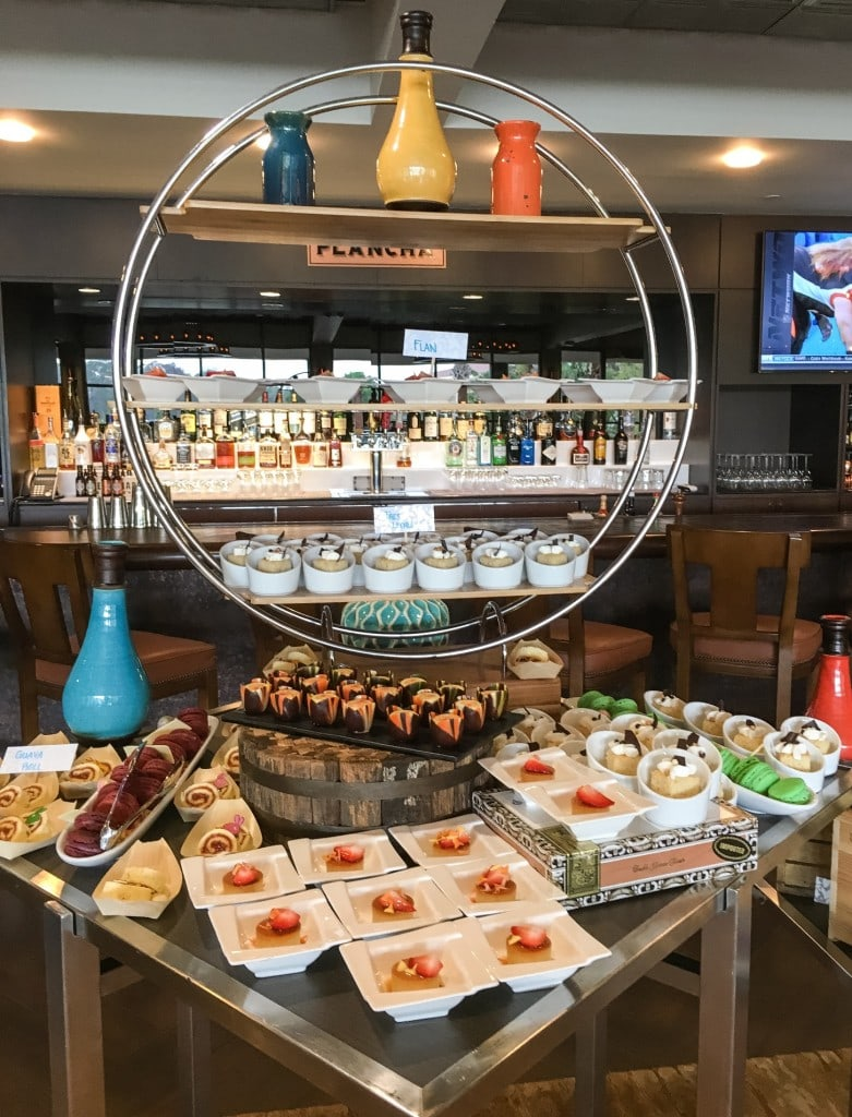 Four Seasons Orlando Brunch Plancha Buffet Dessert Station