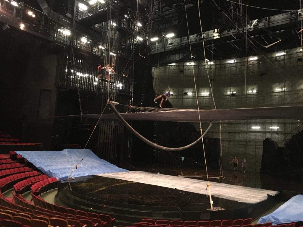 Cirque du Soleil La Nouba Walt Disney World Disney Springs Backstage