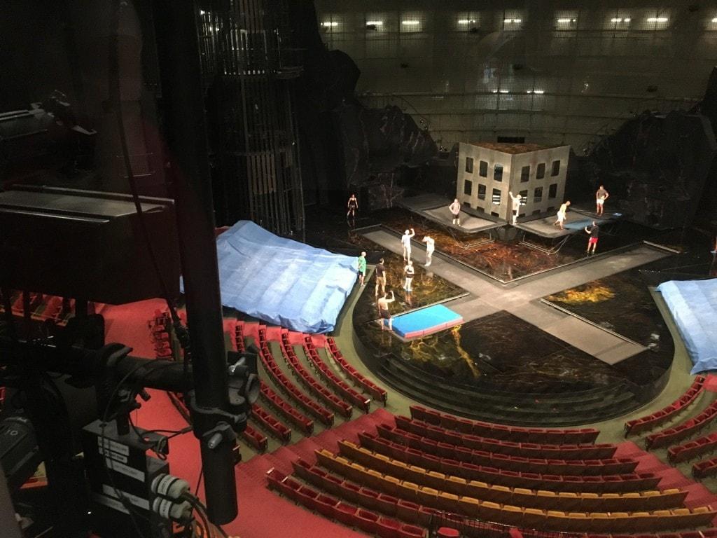 Cirque du Soleil La Nouba Walt Disney World Disney Springs Backstage Production booth
