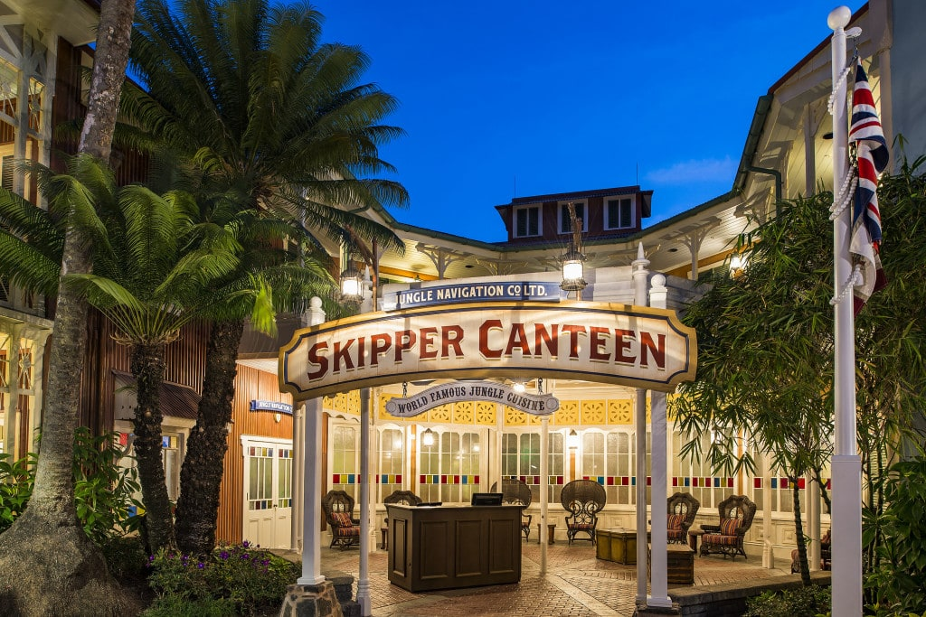 Jungle Skipper Canteen Magic Kingdom