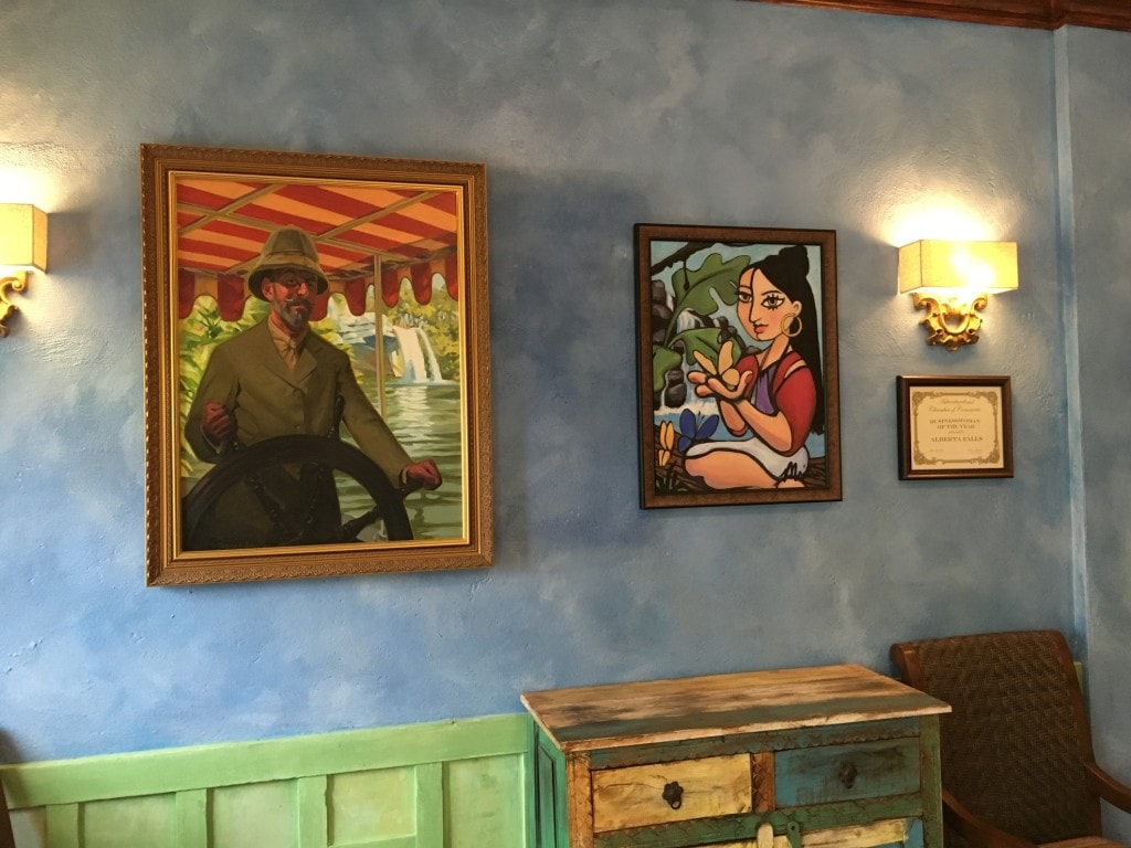 Jungle Skipper Canteen Magic Kingdom Falls Family Portraits