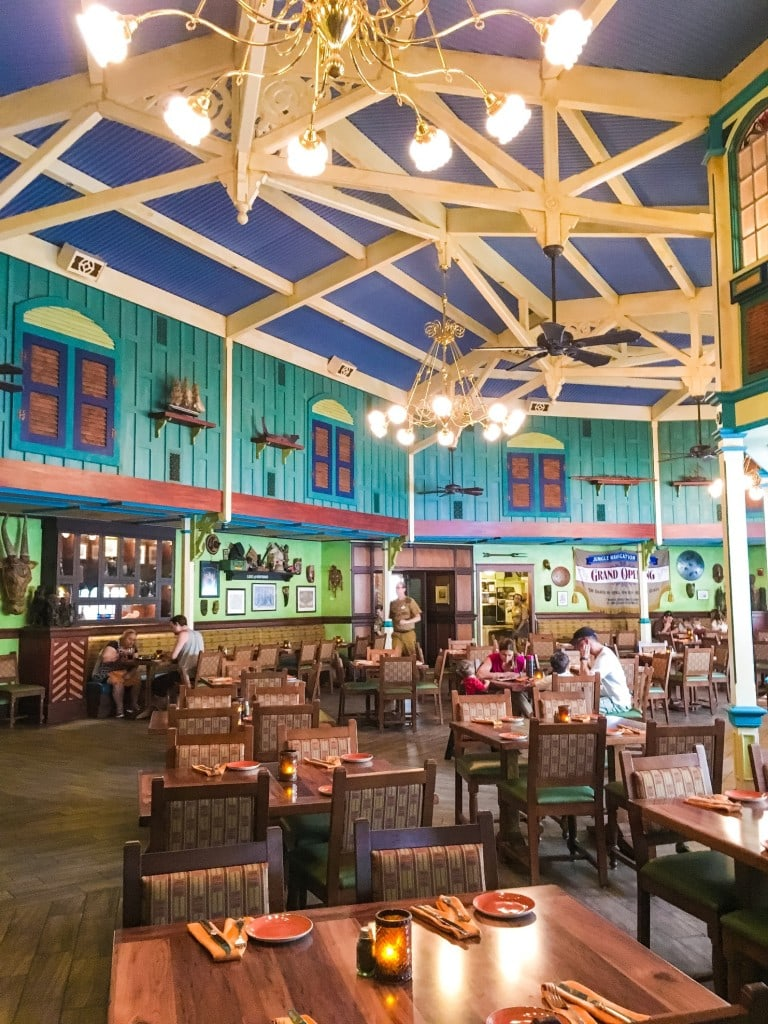Jungle Skipper Canteen Magic Kingdom Mess Hall