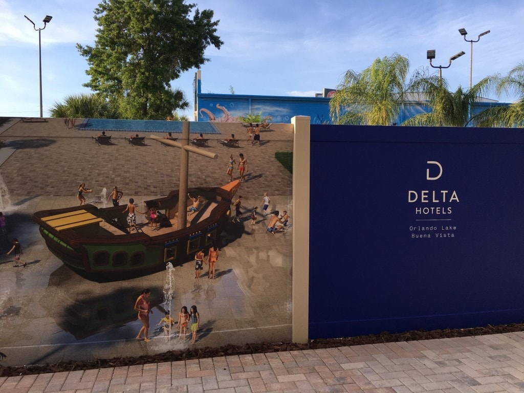 Delta Hotels Marriott Orlando Lake Buena Vista Disney Pool