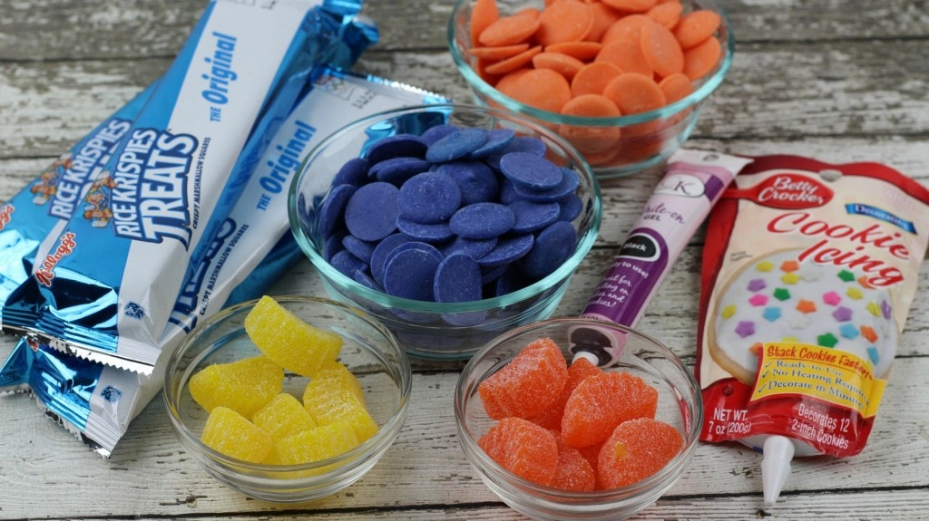 Finding Dory Nemo Rice Krispies Treats Ingredients