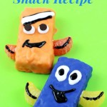 Finding Dory Snack Recipe Using Rice Krispies Treats