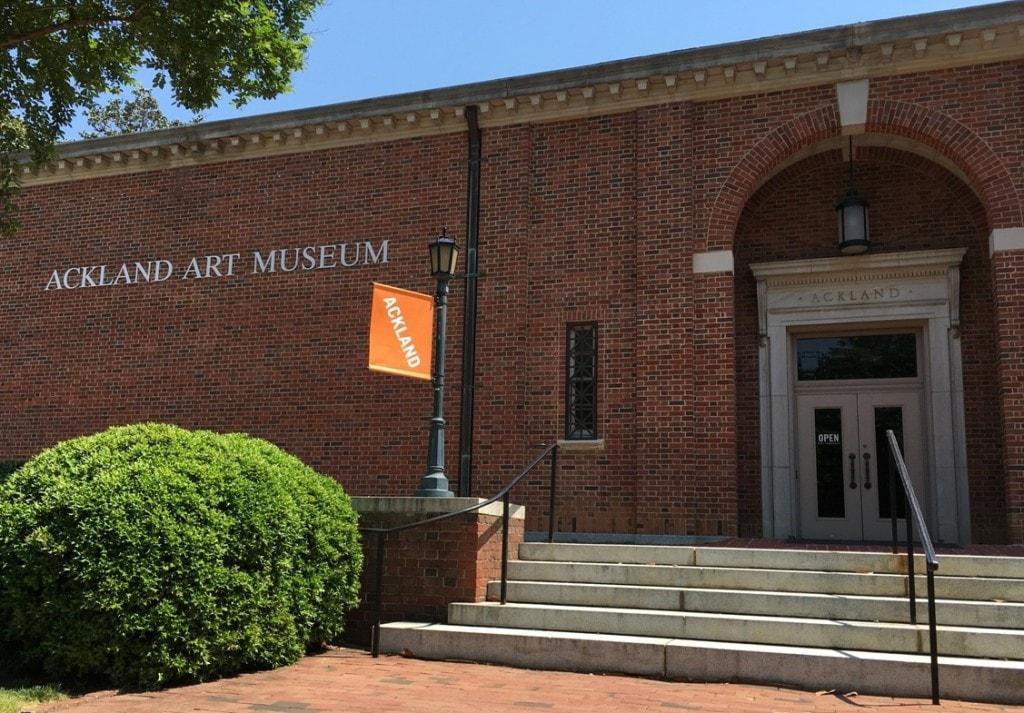 Ackland Art Museum UNC Chapel Hill Campus
