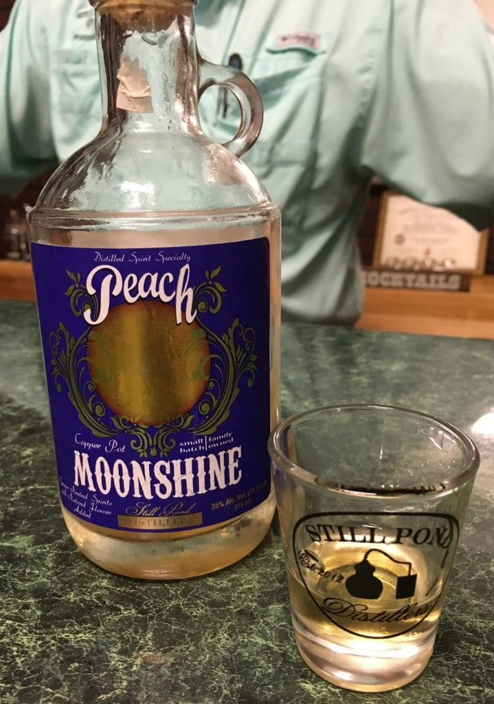 Still Pond Distillery Tastings Moonshine Vodka Muscadine Albany Georgia