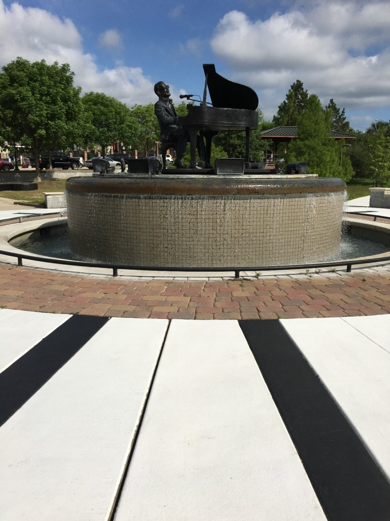 Ray Charles Plaza Albany Georgia Statue