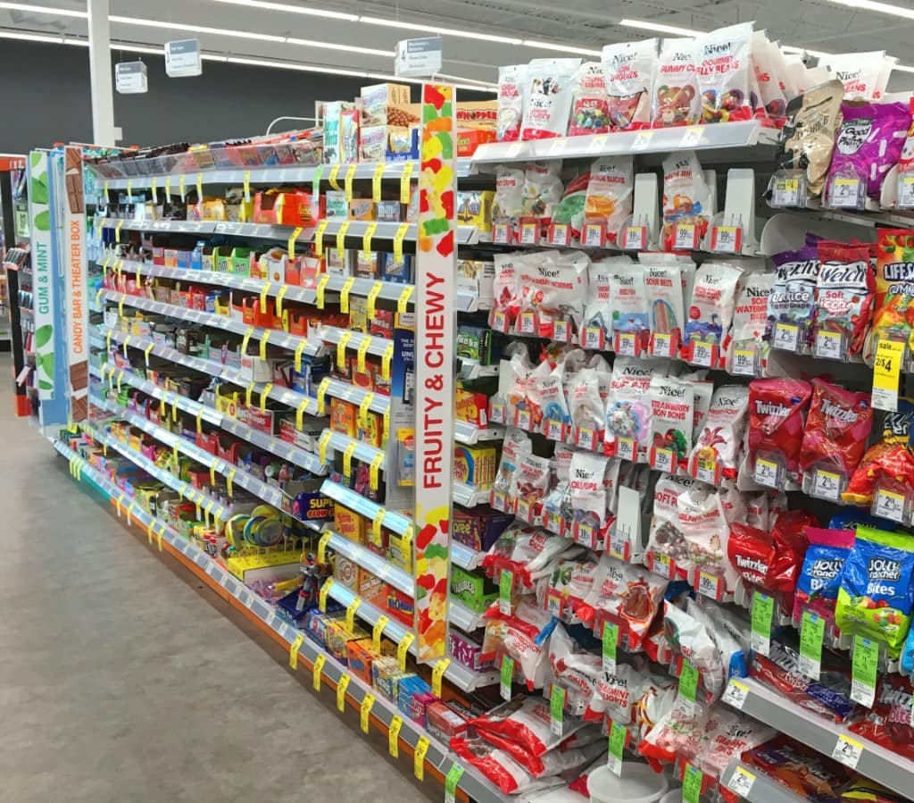 Walgreens Candy Aisle Extra Gum for Carry On Bag Essentials