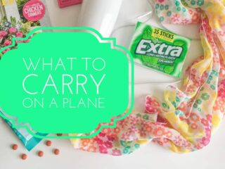 What To Carry on a Plane in a Bag Luggge Carry-On Essentials