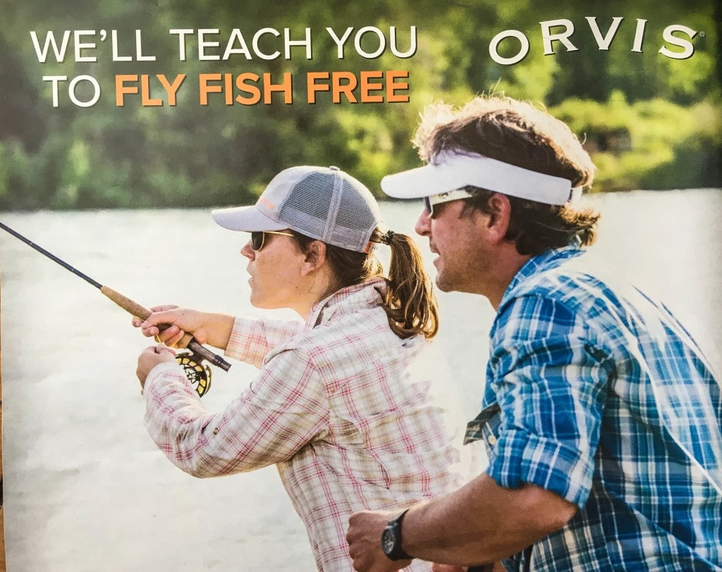 Free Fly Fishing Classes from Orvis