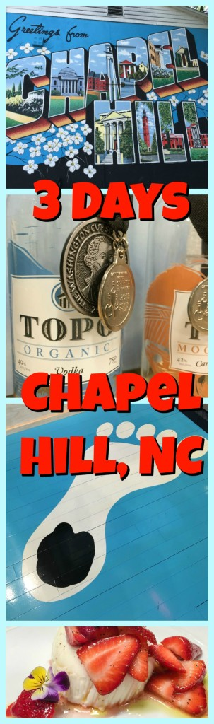 Chapel Hill Collage with Text