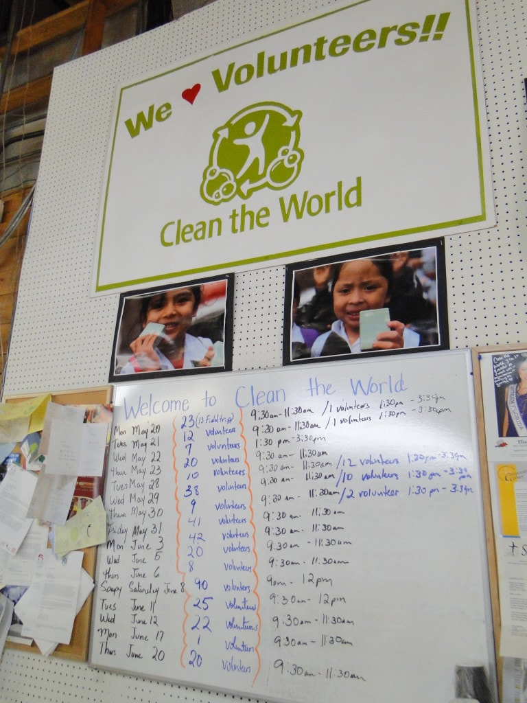 Clean the World Orlando Voluntourism Opportunity Volunteer List