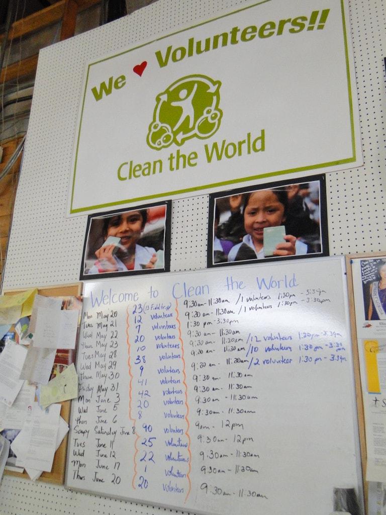 Clean the World Orlando Voluntourism Opportunity Volunteer List