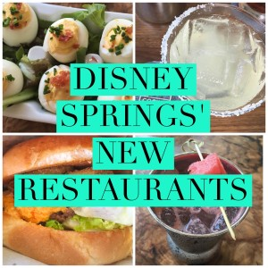 Disney Springs New Restaurants