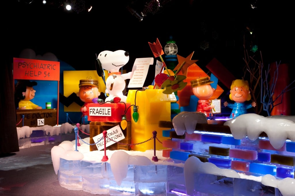 2016 ICE! will feature a Peanuts theme. Just one unique event as part of the Christmas at Gaylord Palms Celebration held November 18, 2016 - January 1, 2017