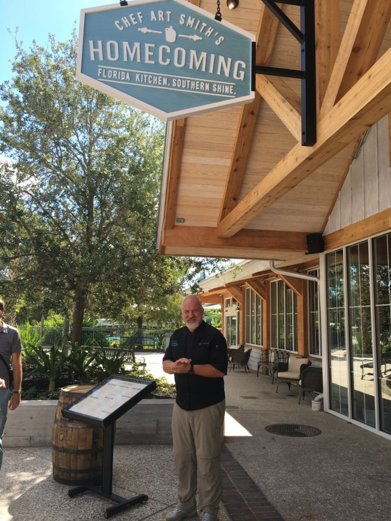 Art Smith at Homecoming Restaurant Disney Springs