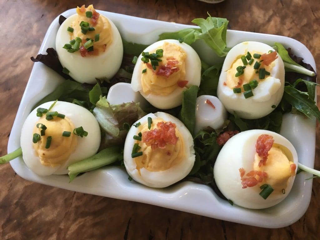 Church Lady Deviled Eggs
