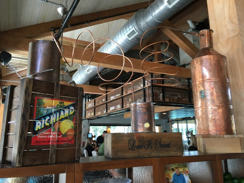 Moonshine Distillery Decor
