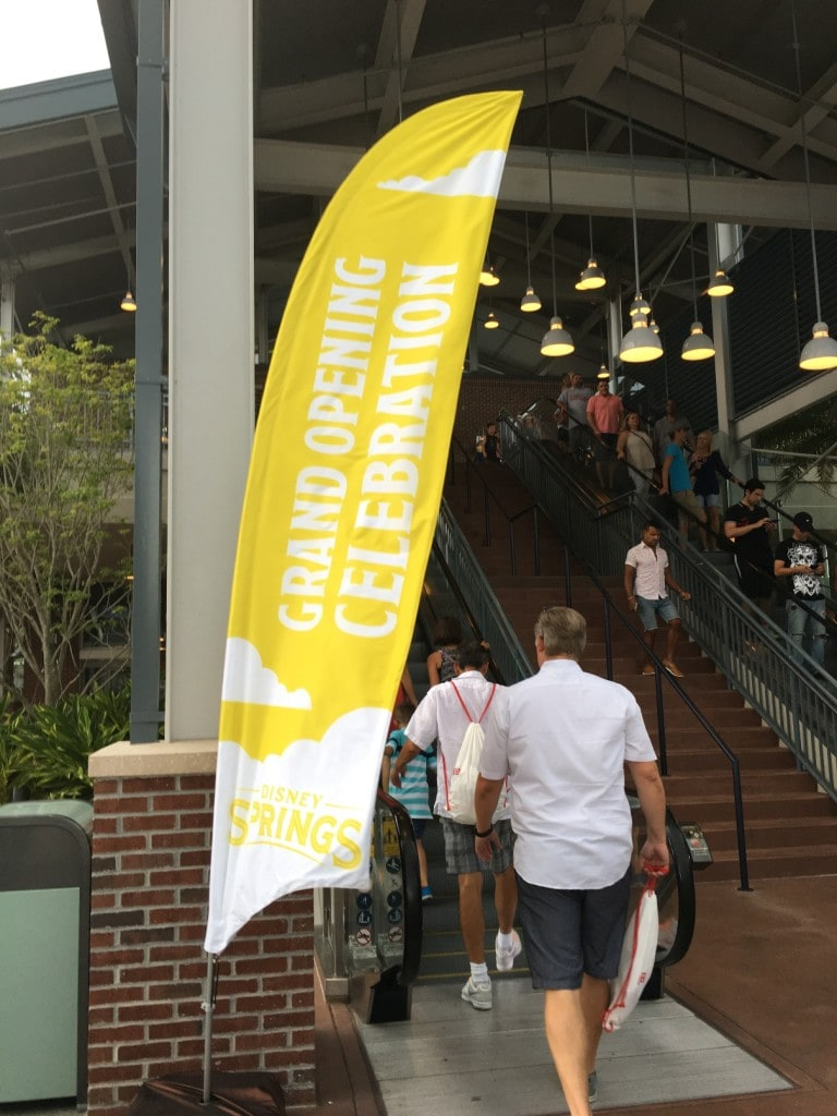 Disney Springs Grand Opening Celebration