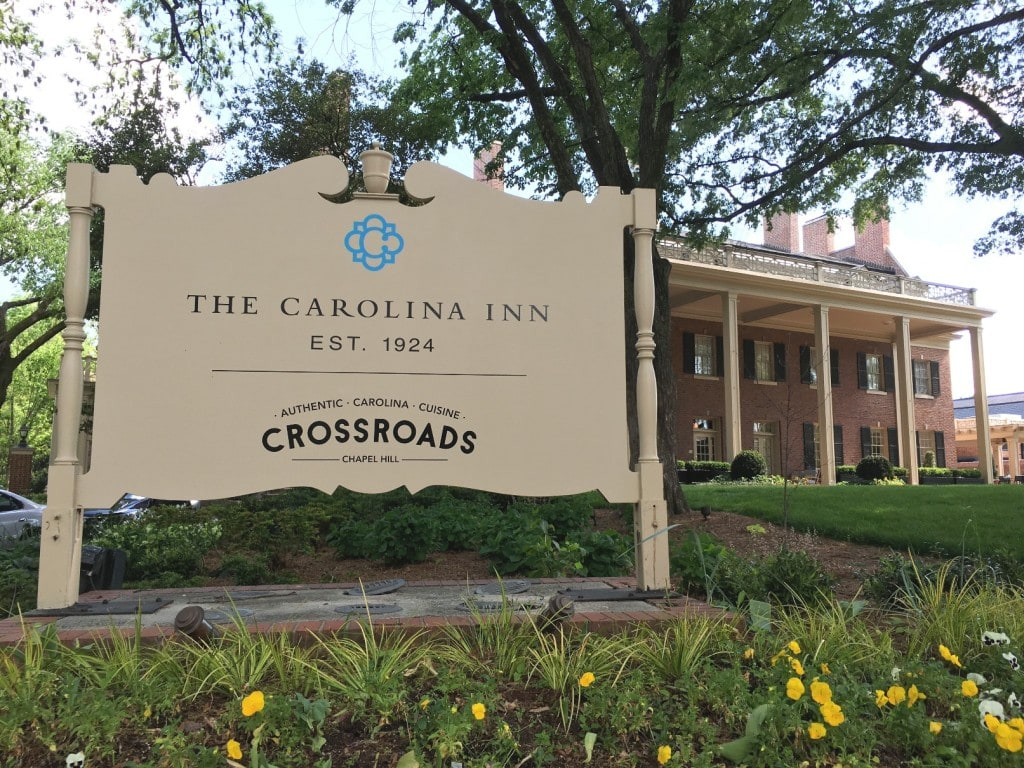 The Carolina Inn at UNC Chapel Hill NC Campus