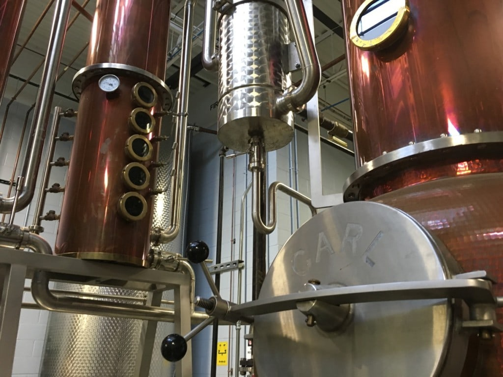 TOPO Organic Spirits Distillery Chapel Hill NC Copper Still