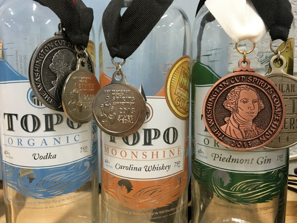 TOPO Organic Spirits Distillery Chapel Hill NC Tour