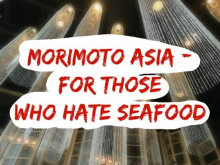 Don't like seafood? Should you still try popular Morimoto Asia at Disney Springs? The answer is yes - and here's what we ate and highly recommend!