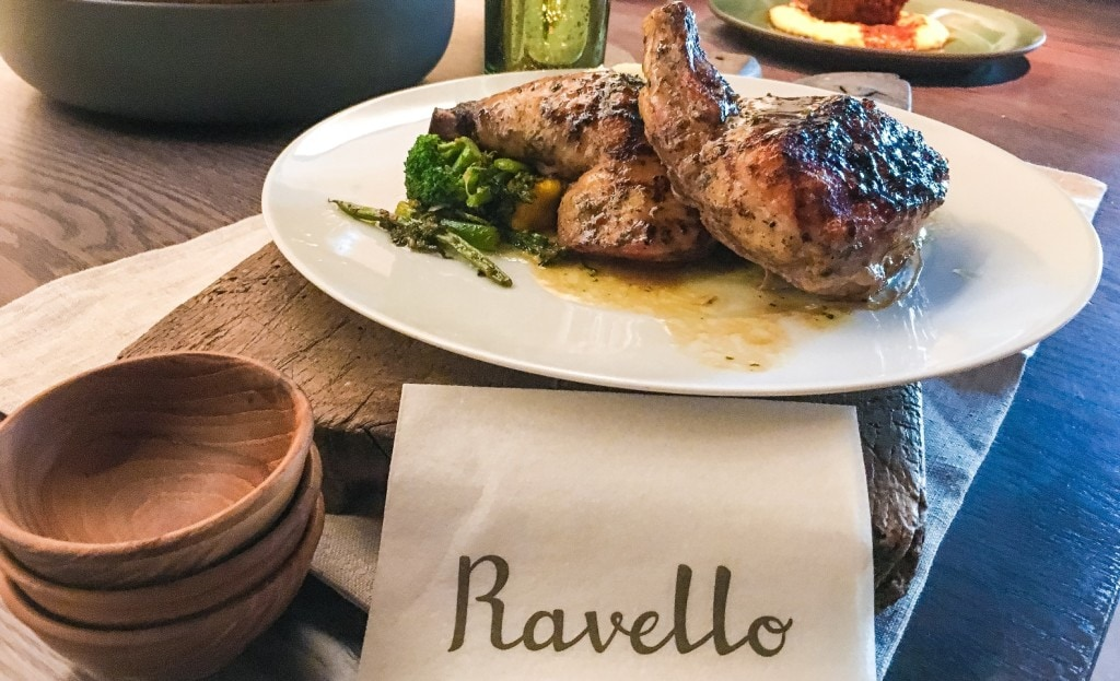 Orlando's Magical Dining Month menu at Ravello at Four Seasons Orlando Resort.