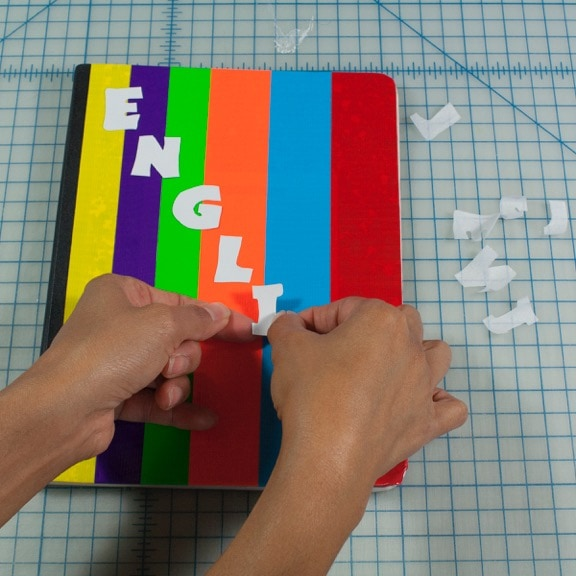DIY Duct Tape Crafts Notebook Cover