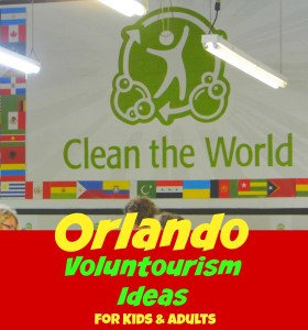 Voluntourism is combining a little volunteering with vacationing. A great activity for kids, to teach them how to care for others. Good news - family friendly activities are available in Orlando! Donating just a couple hours of time can help other children from around the world.
